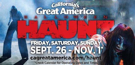 Halloween Haunt's promotional flyer
