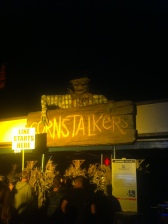 One of the eight haunted mazes, Cornstalkers