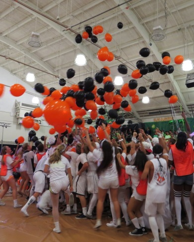 The class of 2015 took home their first Spirit Week victory.