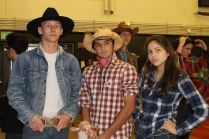 Students looked ready to rustle cattle and ride away into the sunset