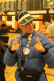 Senior Dean Marchant looking oh-so-fly