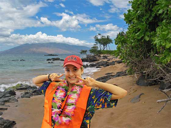 Tess C in Hawaii