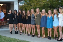 Class of 2017 girls looking swell.