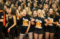 Seniors are excited for their last fall rally.
