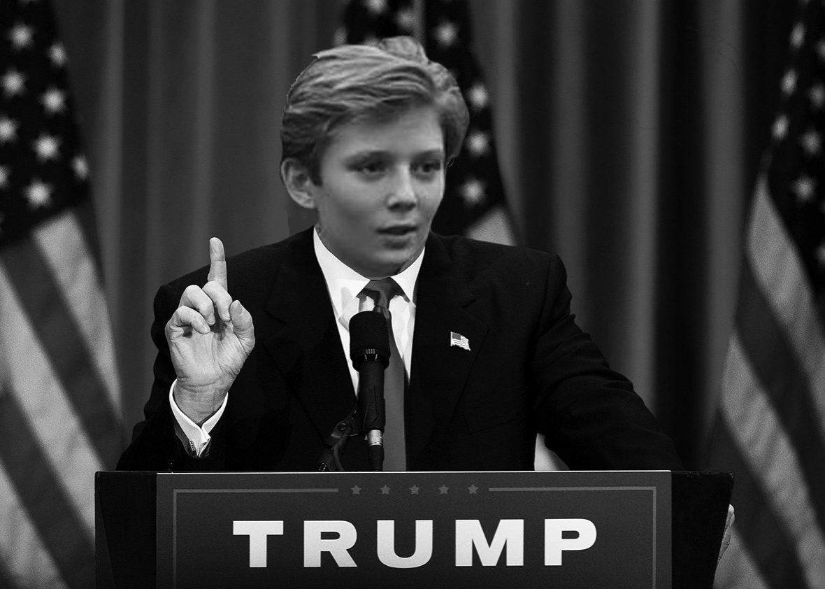 Humor: Barron Trump is the mastermind behind the West Wing ...