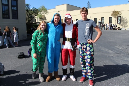 Juniors pose in their PJ's.