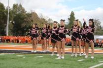 LGHS Cheer Team shows off their talent.