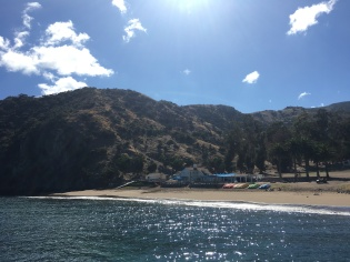 PICTURE PERFECT: Catalina offers students a lot of beautiful scenery on the coast.