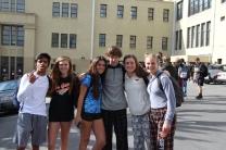 Freshmen show off their spirit