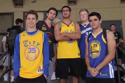 Senior boys represent the Warriors.