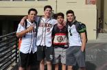 Freshmen look fresh for Jersey Day.