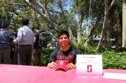 Alex Escudero will be attending Stanford University to wrestle.