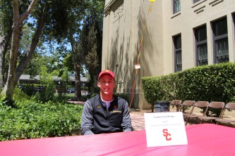 Cameron Henry will be attending the University of Southern California to play golf.