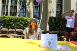 Kiana Pelton will be attending Cal Lutheran University to play volleyball.