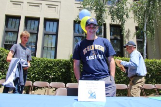 Peter Martyn will be attending the University of California, San Diego to be on the track and field team.