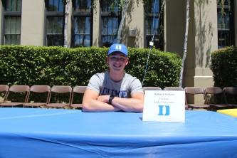 Robert Nelson will be attending Duke University to play football.