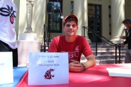Tyler Williams will be attending Washington State University to play football.